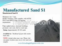 S1 Manufactured Sand