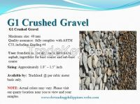 G1 Washed Crushed Gravel