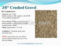 3/8 Washed Crushed Gravel