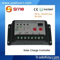 12/24V 20A double output PV system charger controller SR-2L