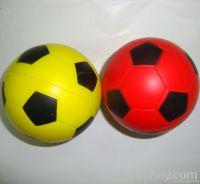 soccer pu stress ball