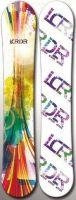 Freestyle digital printing snowboard