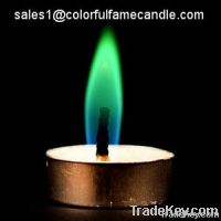 holiday decoration colorful flame candles