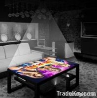 Desktop projection entertainment projective geometry  for bars, ktvs