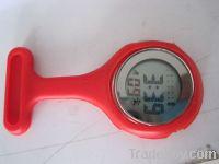 cute silicone nurse table/nurse watch/nurse silicone watch