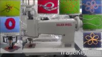 embroidery machine, handle operating chain stitch