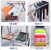 square tube stainless steel clothes dryer