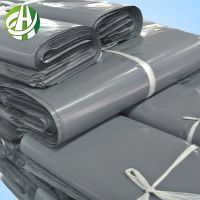 UK recycled plastic grey poly mailing bag for package packing