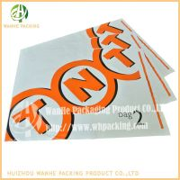 LDPE packing  mail Bags for hospital with permanent tape