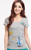 hot sale women t shirts with wholesale