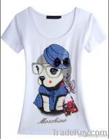 promtional new design whirt women t shirts