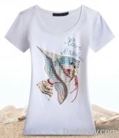 fashion plain women t shirt design