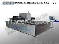 Automatic 3D Laser Inner Engraving Machine