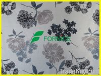 hot sale micro velboa flower print fabric bonded TC for upholstery