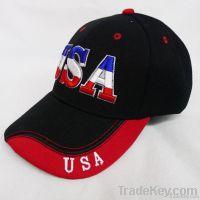 Trendy Fire Embroidery Design Baseball cap