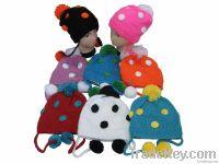 Acrylic handmade children hat