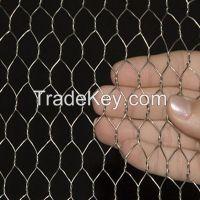 Galvanized Chicken Wire Mesh / Hexagonal Wire Mesh