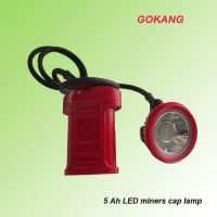 KL5LM LED miners cap lamp, mining cap lamp, miners head lamp, high power