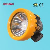 LED cordless miners cap lamp, mining cap lamp, miners head lamp, ATEX approved