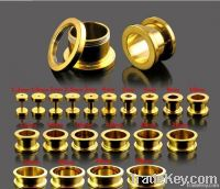 Fashion 316L Stainless steel Tunnel Plug Piercing Jewelry