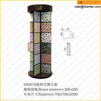 MM018 Revolved Metal Display Rack Stand for Mosaic Tile Glass Mosaic