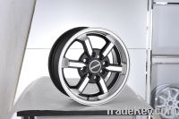 19*9.5 black aluminum alloy car wheels