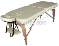 Massage table, Massage bed, portable wooden massage table