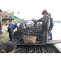 Easy ignite mangrove wood charcoal for barbecue