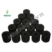 barbecue grilling coconut shell charcoal briquette