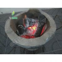 Longan Wood Charcoal 100% green source: long burning, white ash, high calorific & more