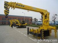 Unique selling point YGQYS2T Small Truck Mounted Crane 2tons with T-ki