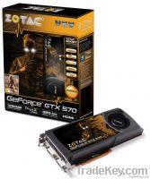 ZOTAC NVIDIA GeForce GTX 570 GTX570 Desktop Graphics Video Card