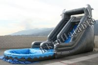 inflatable slide, inflatable water slide, water game