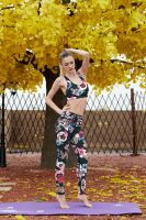 High Quality Digital Printed Sports Bottom Women Slim Fitness Leggings