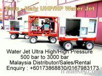 Ultra High/ High Pressure Water Jetting Equipment 500 bar to 3000 bar