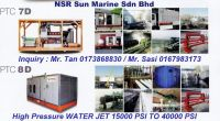 Water Jet Water Blasting Supplier Malaysia, PSI, Bar High Pressure