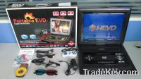 19.8 Inch Portable DVD Player, DVD/Analog TV/GAME Function