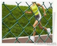Pvc-coated And Galvanized Chain Link Fence