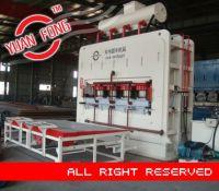 hydraulic short cycle hot press