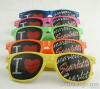 Custom Logo Lense Sunglasses