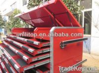 Multi-drawer heavy duty tool cabinets