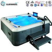 Hot sale luxury outdoor hot tub with 42 pcs massage jet for 5 person hot tub