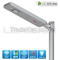 2015 China Best Manufacturer Angel eyes all in one solar street light  with lithium battery manufactory
