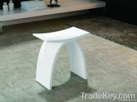 Delicacy Bathroom Solid Surface Stool PB4002