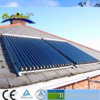 2013 European style split pressurized solar water heater(30tubes)