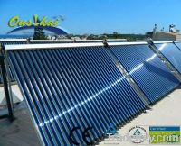 2013 European style split pressurized solar water heater(30tubes)