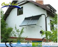 separated pressurized solar water heater for household
