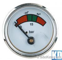 Diaphragm pressure gauge