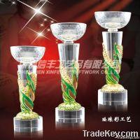 Delicate Crystal trophy