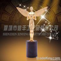 Delicate Metal Angel Trophy